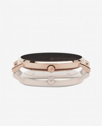 Rose Gold Black – Mesh (With A Complimentary Pair of Watch Straps)
